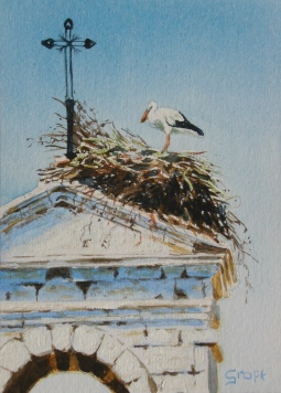 'Church Stork' © Sandie Croft