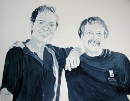 'Cliff and Trevor' © Sandie Croft