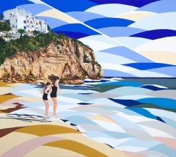 'Girls on the beach' © Alyson Sheldrake