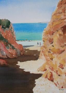 'September on Alvor Praia' © Sandie Croft