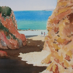 'September on Alvor Praia' © Sandie Croft