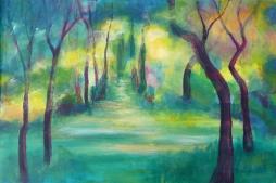 'Forest Path' © David M Trubshaw