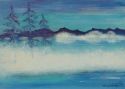 'Pines in the Mist' © David M Trubshaw