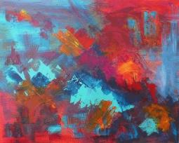 ''Red Explosion' © David M Trubshaw