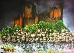 'Templar Castle of Almourol' © Kaye Miller-Dewing
