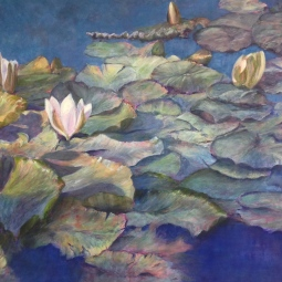 'THE WATER LILY POND' © Caroline Wood