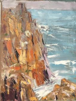 'Atlantic Cliffs' © Penny Coombs