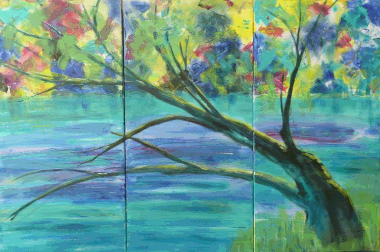 Tree Triptych 1