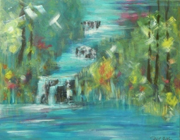 'Waterfalls' © David M Trubshaw