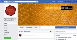 Facebook Page - Algarve Daily News