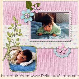 ;digital scrapbooking page - scrap for you albums' © Ana Domingues Pereira