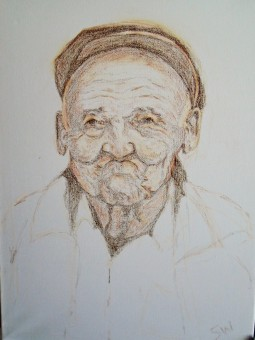 'Elderly Man' © Sara Wooldridge