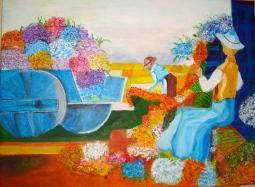 'Flower Harvest' © Anneke Verschoor Kuipers