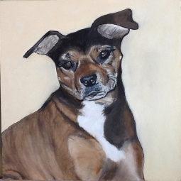 'Friend Dog' © Sara Wooldridge