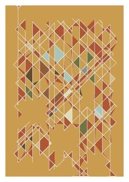 'geometric digital painting' © Ana Domingues Pereira