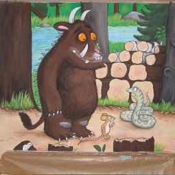 'Gruffalo mural, private house, London' © Sophie Wills