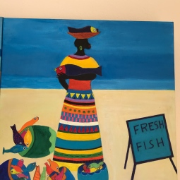 CInspired by Caribbean Art 1' © Anneke Verschoor Kuipers