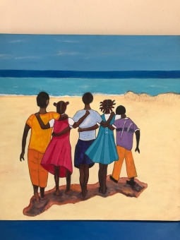 'Inspired by Shari Erikson - Caribbean Art' © Anneke Verschoor Kuipers