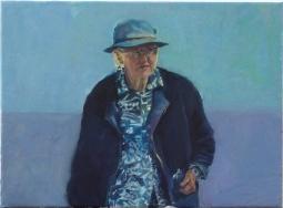 'Lady in blue Aljezur' © Steph Hayman