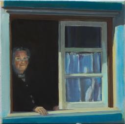 'Lady in window Aljezur' © Steph Hayman