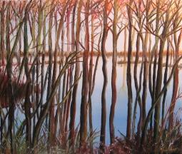 nr 24 'Trees and Water' © Joke van der Steen