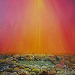 nr 4 'Pebbles Sunset' © Joke van der Steen
