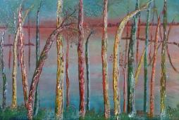 nr 66 'Colored Trees and Water' © Joke van der Steen