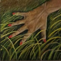 nr 87 'Hand in Grass' © Joke van der Steen