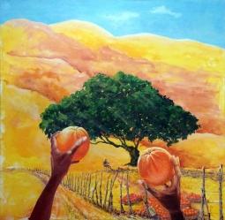 'Orange Seller' © BJ Boulter