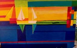 'Sailing inspired by Ton Schulten' © Anneke Verschoor Kuipers