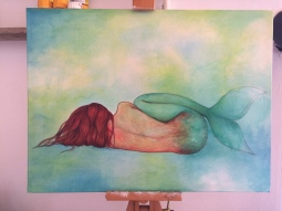 'Sleeping Mermaid' © Sophie Wills