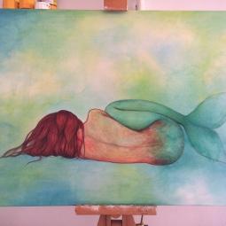 'Sleeping Mermaid' © Sophie Wills