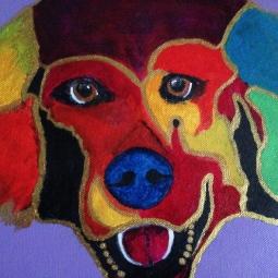 'Snoet hond 2013' © Anneke Verschoor Kuipers