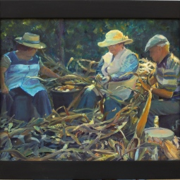 'Stripping the Corn, Serominheiro' © Steph Hayman