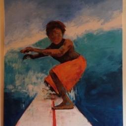 'Surfer Boy' © Sophie Wills