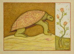 'The Turtle & the Roses' © Eliza Hafer