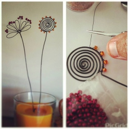 'wire flowers' © Ana Domingues Pereira