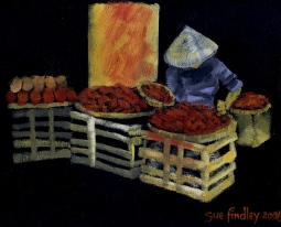 'Vietnamese street vendor' © Sue Findley