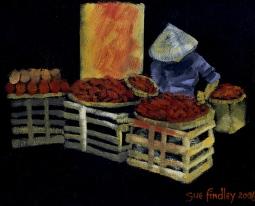 'Vietnamese street vendor' © Sue Findley