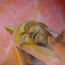 'Reclining buddha' © Sue Findley