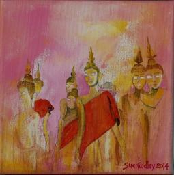 'Statues in Laos' © Sue Findley
