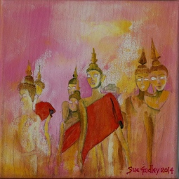'Statues in Laos' © Sue Findley