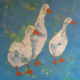 'Three Geese' © Sue Findley
