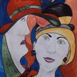 'Ladies At Tea' © Osmond K Mairs
