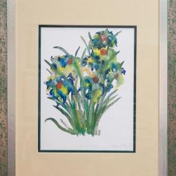 'Winter Iris' © Osmond K Mairs
