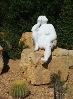 'Sunprayer' Marble Sculpture © Sonja Eckenstein-Schalen
