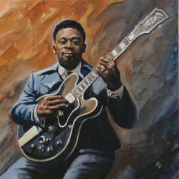 'BB King with his Lucille' © Ben Helmink