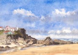 'Beach, Monte Clerigo' © Gill Goode