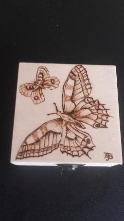'Butterfly trinket box' © Andrea Barlow