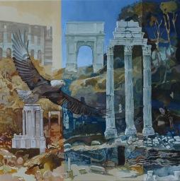 'Eagle on Forum Romanum' © Ben Helmink